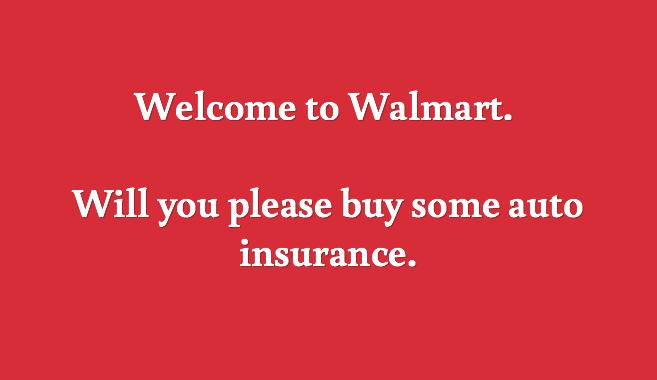 walmart auto insurance