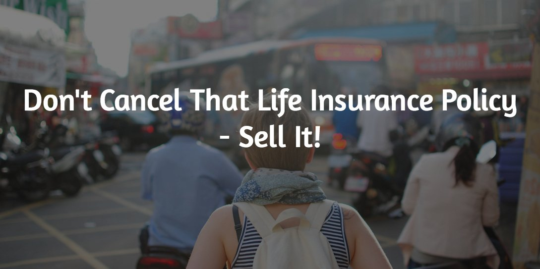sell your life insurance policy for cash